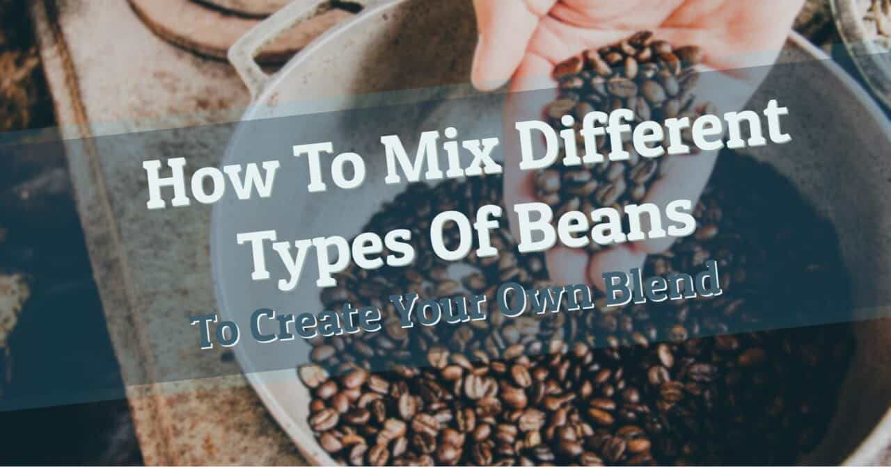 Make blended coffee at home