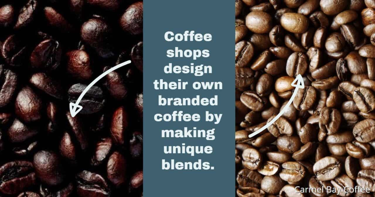 how to make unique coffee blends