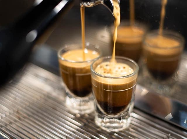 Drink espresso after dinner