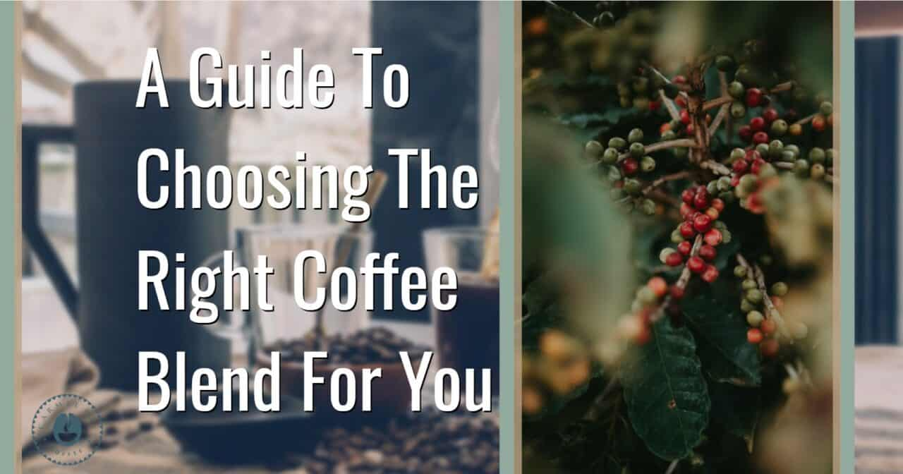 How to choose a coffee blend