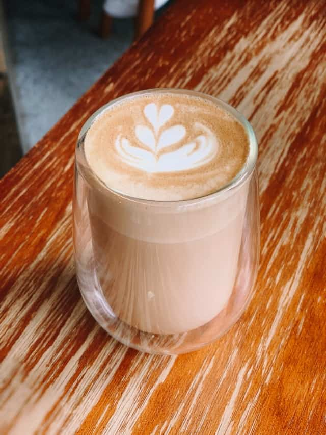 Classic example of a latte