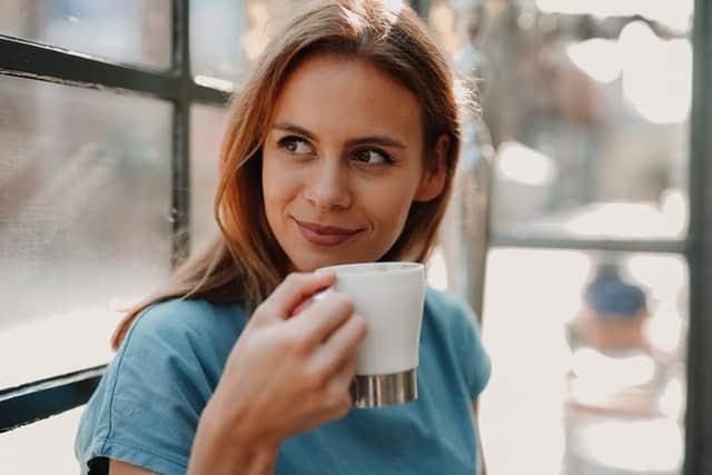 drinking keto coffee