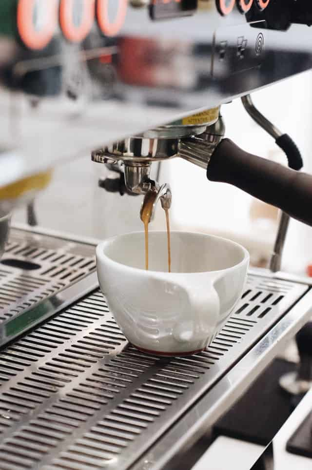Espresso Machine shot