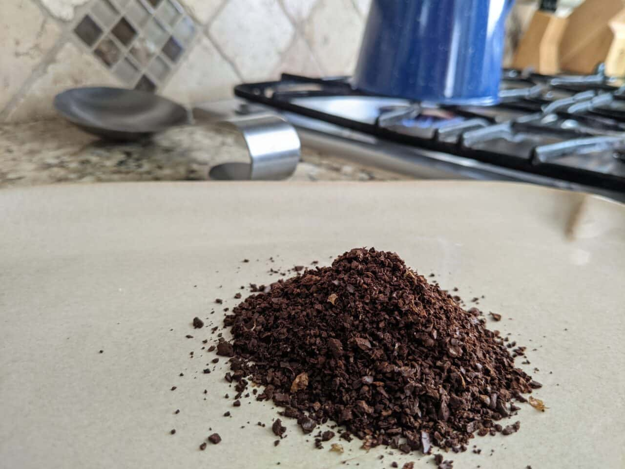 Grind size for cowboy coffee