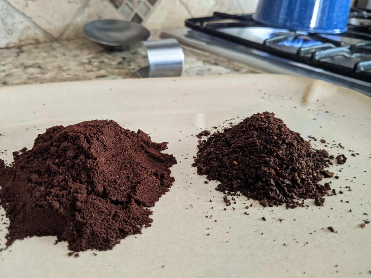 fine grind vs coarse grind coffee