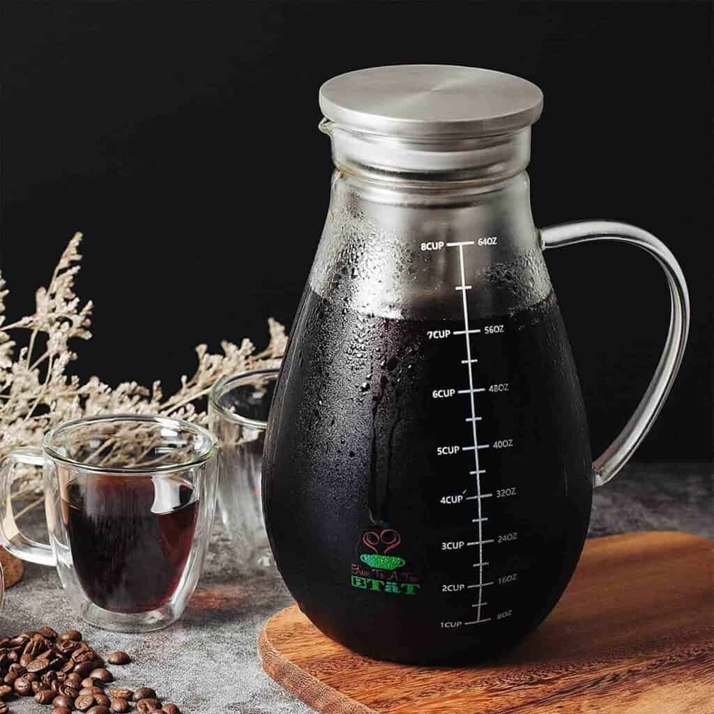 immersion cold brew coffee maker